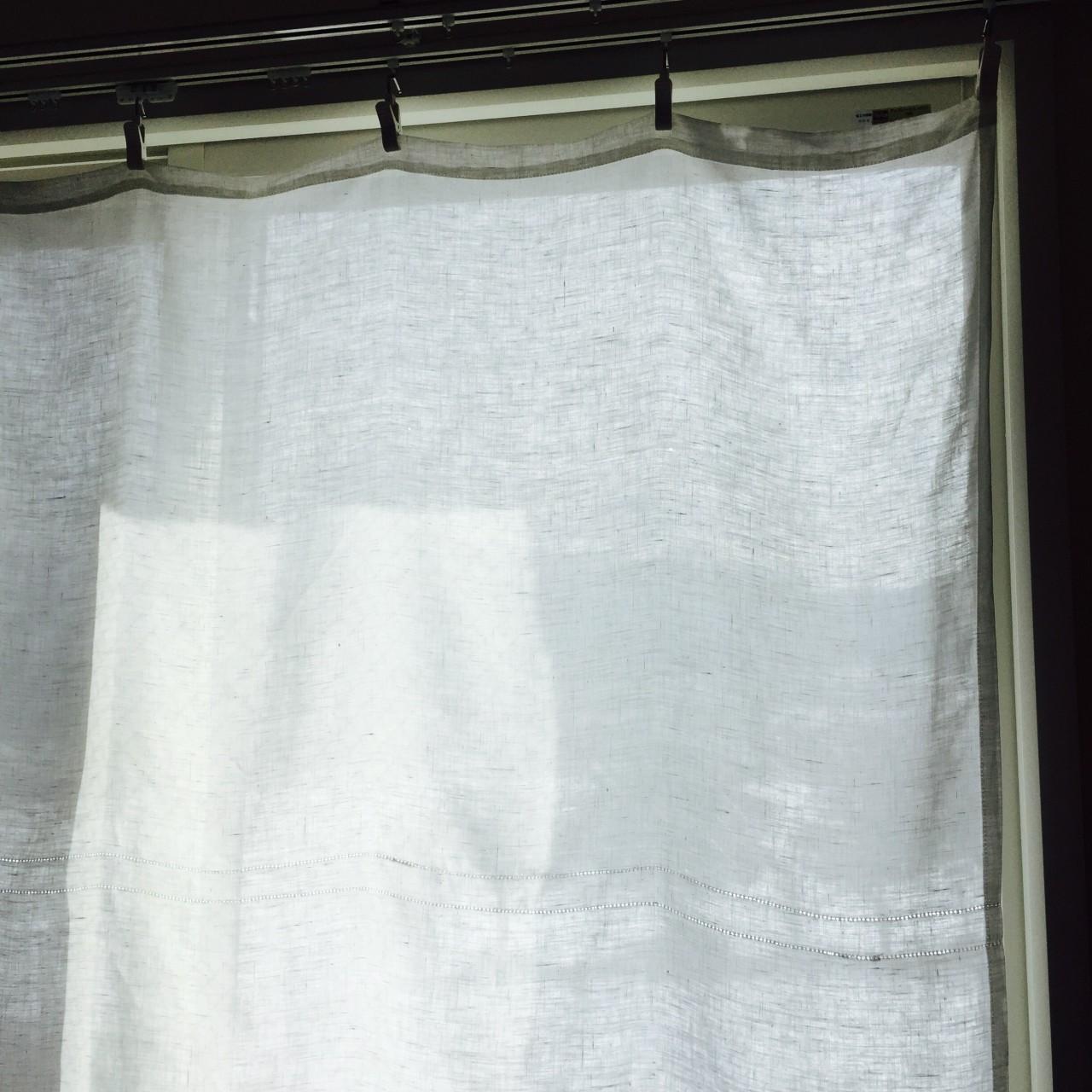 リネンのカーテン – 気持ちよく暮らしたい